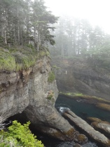 Sea Caves at Cape Flattery