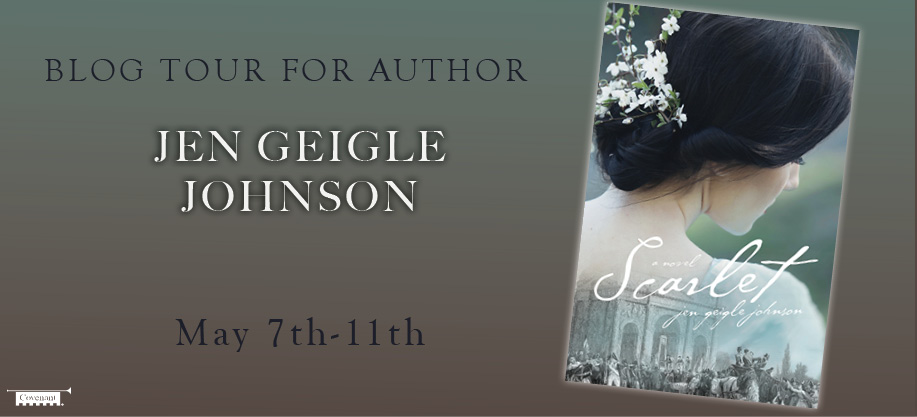 Scarlet Blog Tour Banner